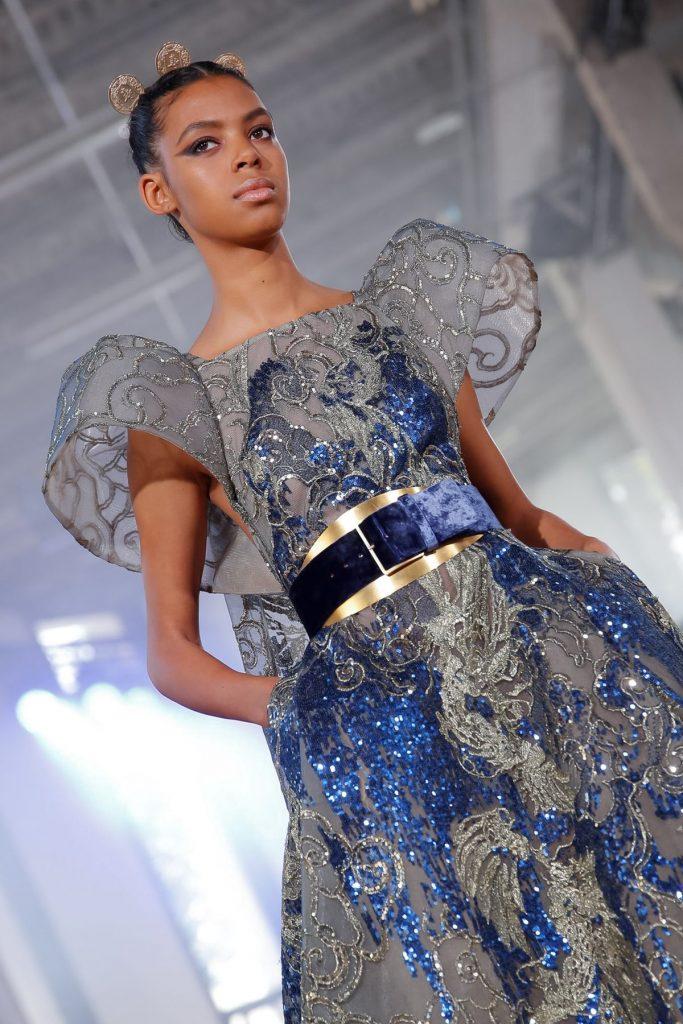Detalhes Elie Saab Alta-Costura Outono 2019
