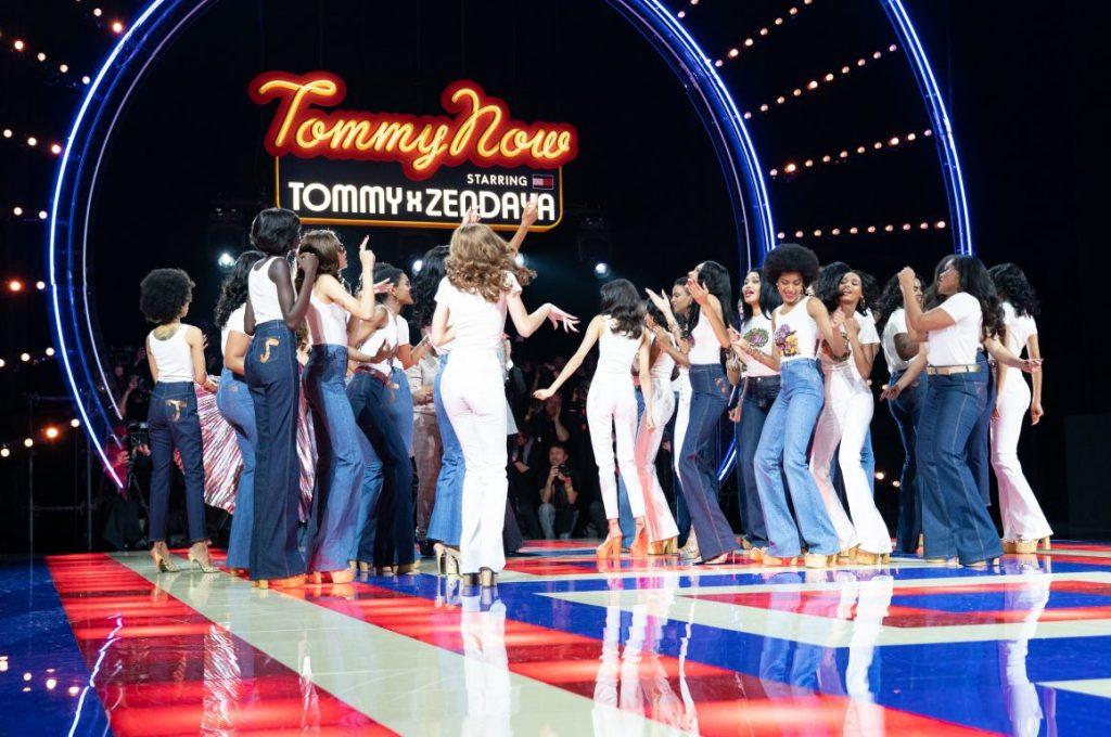 Primeiro desfile da coleção Tommy x Zendaya
