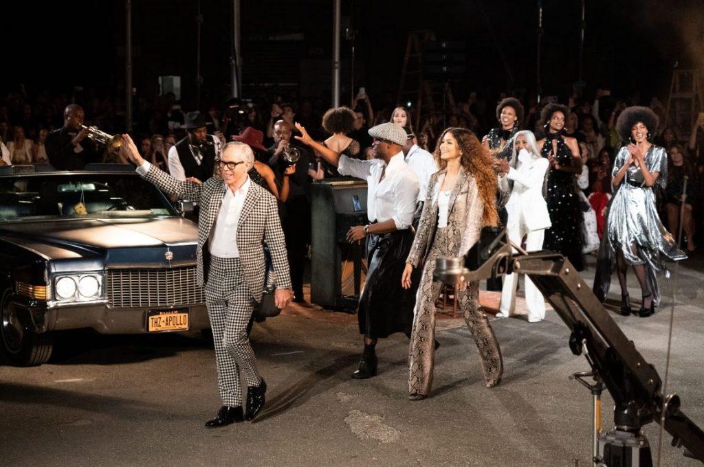 Tommy x Zendaya na Semana de Moda de Nova York
