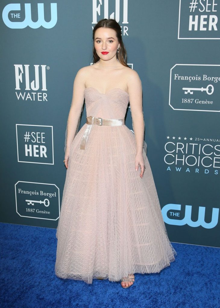 Kaitlyn Dever de Dior no Critics' Choice Awards 2020