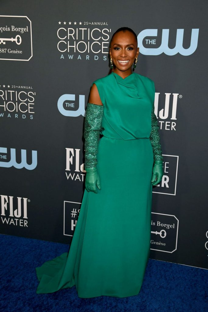 Janet Mock de Valentino no Critics' Choice Awards 2020
