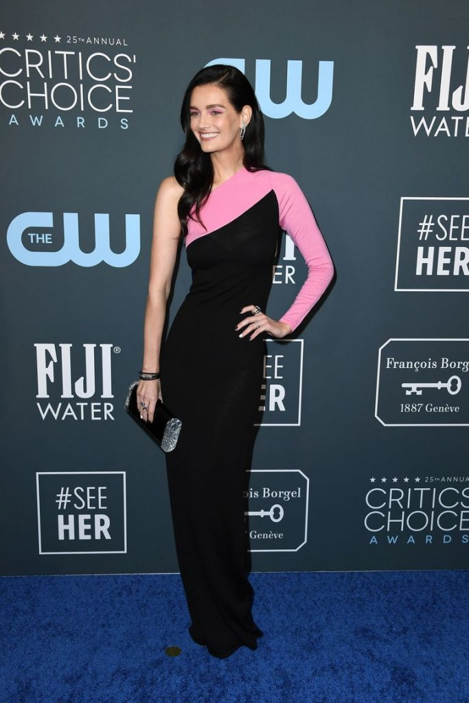 Lydia Hearst de Victor Glemaud no Critics' Choice Awards 2020